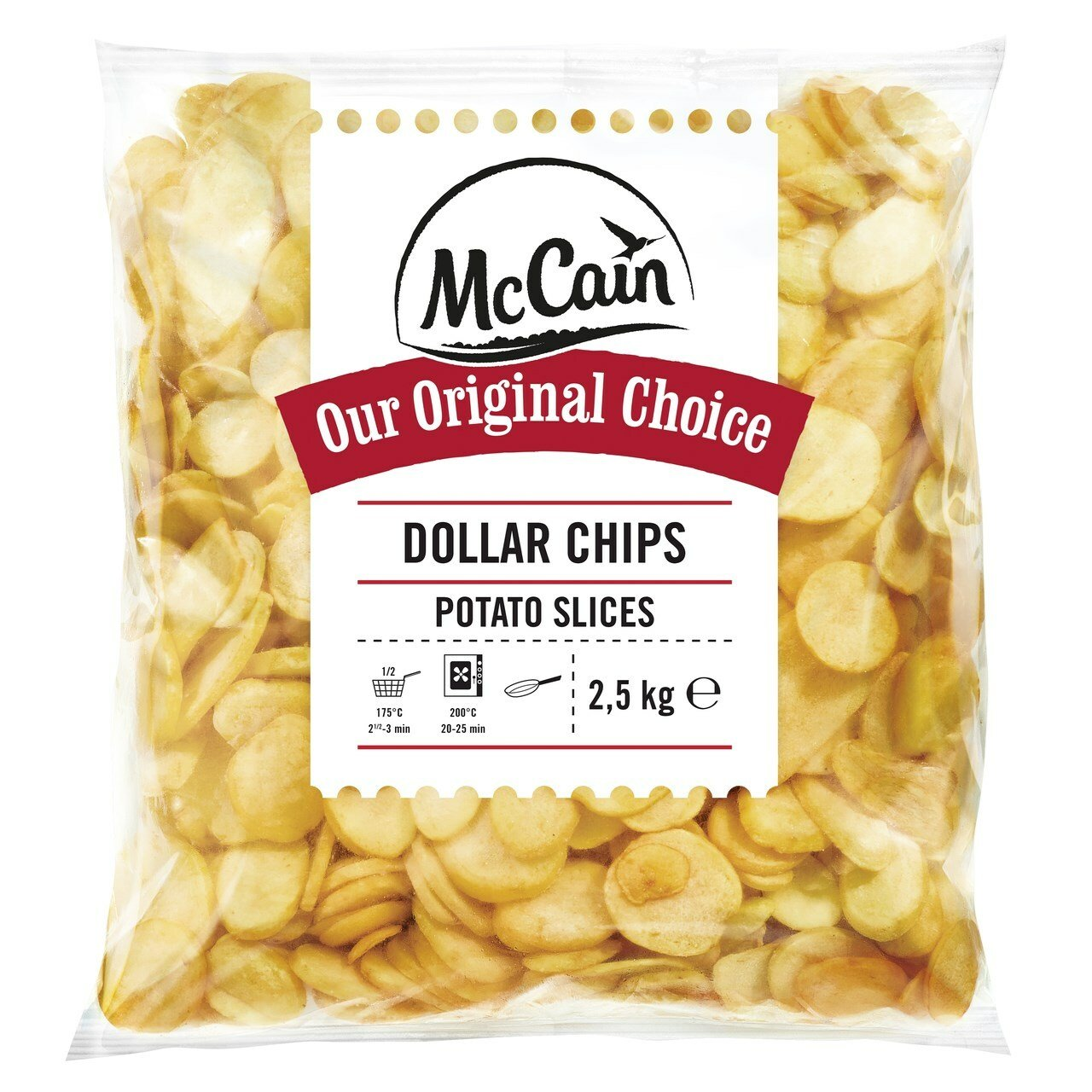Zem. dollar chips 2,5kg/4ks MCCAIN